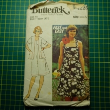 Butterick 4225 dress jacket