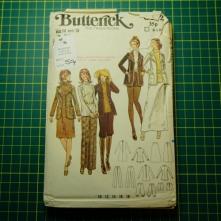 Butterick jacket trousers shorts knickerbockers
