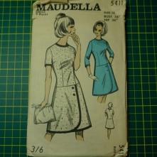 Maudella 5411 wrap skirt dress