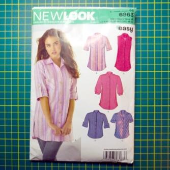 New Lok 6953 shirt pattern