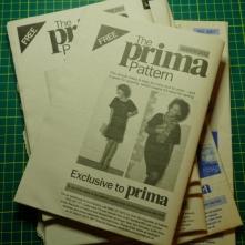 Prima magazine various patterns