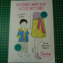 Sewing made simple reversible wrap skirt
