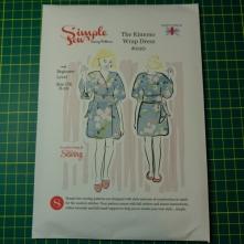 Simple Sews kimono wrap dress #010