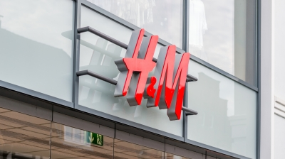 H&M sign - fast fashion